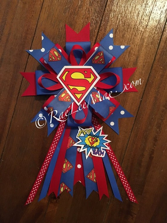 superman birthday corsage superman theme birthday party super hero