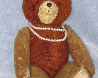 "18"" Antique Teddy Bear, Fully Jointed"