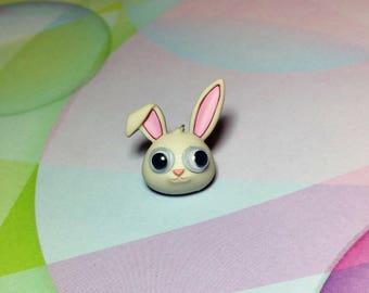 Rabbit Pin Tie Tack