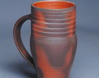 Clay Coffee Mug Beer Stein Wood Fired F48