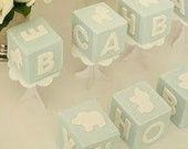 Fondant Baby Blocks *As seen on Layla Grace* TM Holly's Sweet Hobby 2011