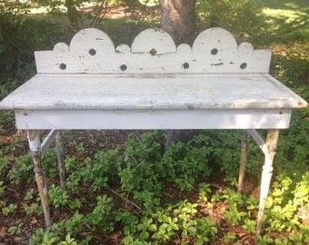 Primitive Garden Table