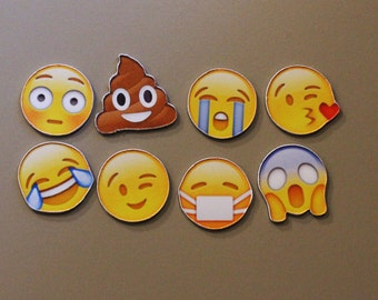 Emoji Magnets Set of 8