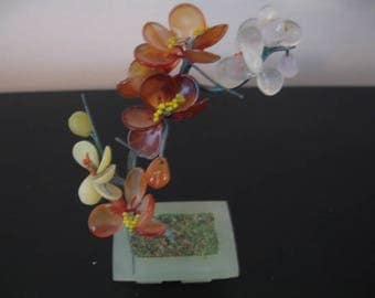 Vintage Wire Art Flower Arrangement