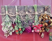 Dried Flower Wreath,Wreath,Primitive Decor,Drying Rack,Dried Flower Arrangement,Wall Decor,Dried Flowers,Country,Rustic