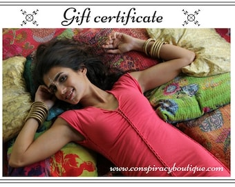 Christmas Gift Idea / Gift Certificate / Gift Card / Printable Gift / Gift For Her / Gift For Wife / Gift Idea / Email Gift  / Love Vouchers