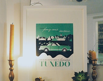 Winnipeg Neighbourhood Prints: Luxurious Tuxedo