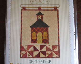 September Quilted Wall Hanging Pattern
