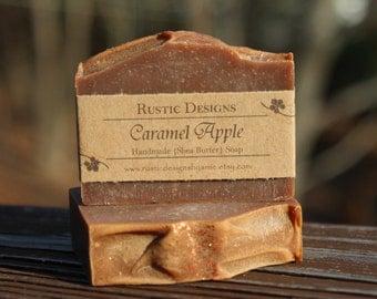 Caramel Apple Soap ~ Vegan ~ Handmade ~ Shea Butter