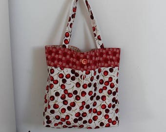 Red grocery bag