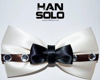 Han Solo Hair Bow