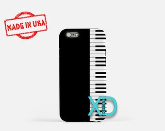 Piano Keys iPhone Case, Piano iPhone Case, Piano Keys iPhone 8 Case, iPhone 6s Case, iPhone 7 Case, Phone Case, iPhone X Case, SE Case