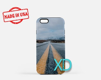 Mountain Road iPhone Case, Street iPhone Case, Pavement iPhone 8 Case, Road, iPhone 6s Case, iPhone 7 Case, Phone Case, Safe Case, SE Case