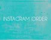 Instagram Order for Japser.in.june