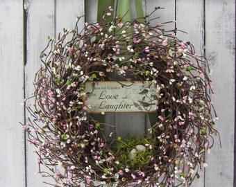 Spring Wreath - Easter Wreath - Birdnest -