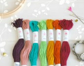 """Embroidery Floss """"Parlour Pallete"""" - 7 Skeins Pack - Embroidery Thread by Sublime - Sublime Stitching - Embroidery Floss - Cotton Floss"""
