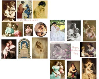 A Mothers Love Collage Set