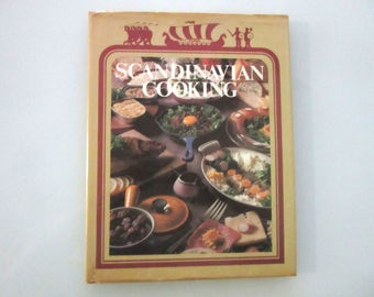 Scandinavian Cooking by Beryl Frank Hardcover with Dust Jacket Published 1977 First Edition