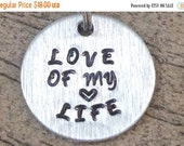 Love of My Life Dog Tag or Key Ring - Animal Rescue