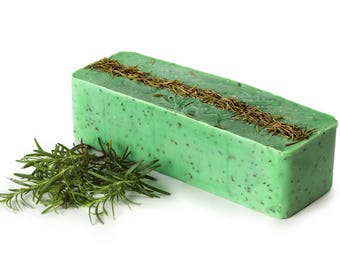 Soap Rosemary, Soap Loaf FREE SHIPPING Wholesale Soap Bulk, Natural Soap, Castile Soap, Cold Process Soap, Artisan Soap, Private Label Soap