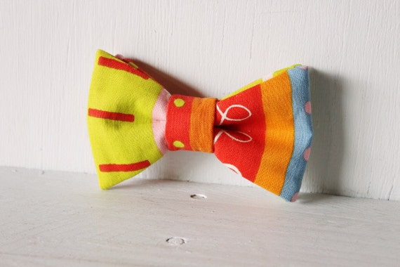 Dog bow tie >> Retro bow with elastic >> Pet gift