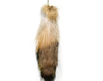 Glacier Wear Coyote Tail Key Rings Chains