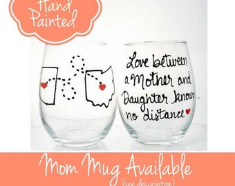 Gifts for Mom, Mothers Day from Daughter, Mother's Day Gift for Mother, Gift Mom, Wine Glass, Mom Gift for Mom Wine Glass, Mom Birthday Gift