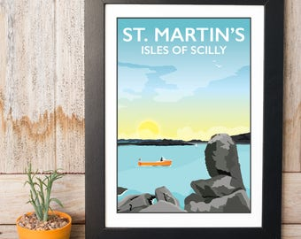 St Martin's Isles of Scilly Print