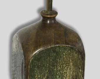 A small reclaimed Oak Lamp