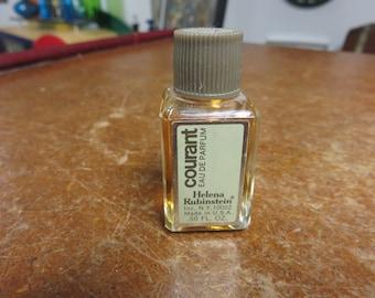 Vintage Helena Rubinstein Courant Eau De Parfum  .50 Fl Oz Full Perfume