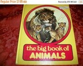 The Big Book of Animals Hardcover Illustrated Vintage 1979 Banner Press Children's  Educational Book