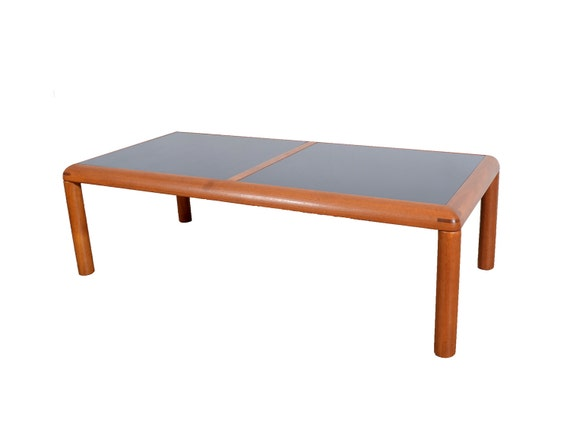 D Scan Flip Top Danish Modern Teak Coffee Table