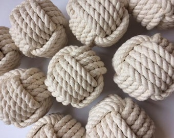 20 Nautical Wedding Table Number Knots