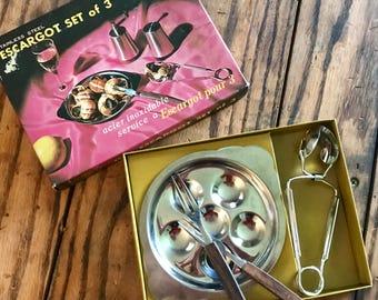 Yax Vintage Escargot set