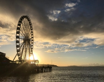 Seattle Great Wheel, Washington