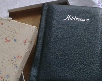 1950's Boxed Vintage Address Book
