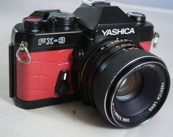 Re-skinned Yashica FX-3 with Yashica DSB 50mm f/1.9 Lens