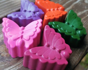 Butterfly Crayons set of 20 - Butterfly Party Favors - Butterfly Party - Garden Party