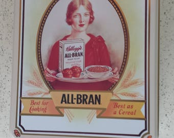 Kellog's All Bran Tin - 1992