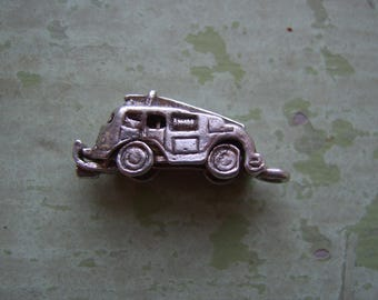 A Vintage Silver Charm/Opening Charm - Fire Engine/Fire Truck.