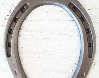 New Horseshoes - Sand Blasted - Plain Shoe Size 1 -The Heritage Forge