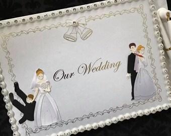 Wedding Reception Funny Bride and Groom Signature Guest Book Wedding Keepsake