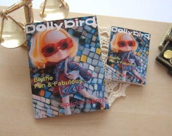 doll magazine blythe doll playscale or 12th scale dollhouse dolly bird