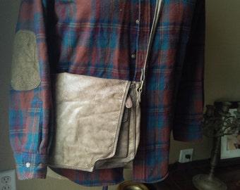 Leather Satchel Crossbody Bag Leather Bag Purse