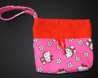 Hello Kitty/ Christmas/Purse/Bag/handbag/Handmade/Holiday/ Gift/Teen/Women/Girl/Child