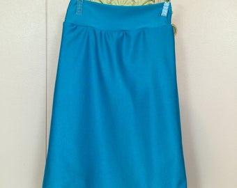 Ladies Swim Skirt/ Modest Swim Wear/ Swim Skirt/ Ladies Sizes/Swim Fabric/Please allow 3 weeks for processing before shipment
