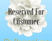 Reserved Order For Diana