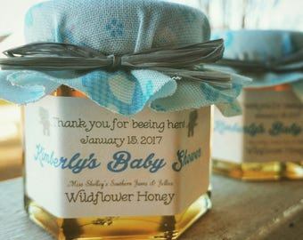 Baby Shower Favors - 70-75 (2oz) Honey Jar Favors - It's a Girl Favors - It's a Boy Favors - What Will Baby Bee Favor - Mommy to Bee Favors