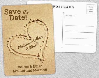Heart and Soul - Postcard - Save-the-Date