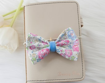 Liberty of London Fabric Bow in Felicite Pink